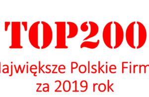 Największe Polskie Firmy 2019 wg Wprost