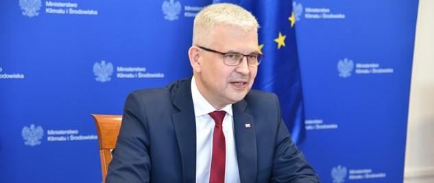 Ireneusz Zyska – Wiceminister Klimatu i Środowiska na XII Ogólnopolskiego Forum Fotowoltaiki i Magazynowania Energii SOLAR